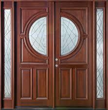 front door with glass panels exterior double entry doors with four panels and round glass