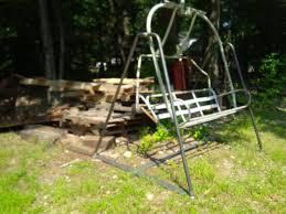 Backyard Ski Lift Projects Ski Lift Chair Swing Amherst Welding Inc