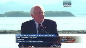 senator bernie sanders i vt presidential campaign announcement c