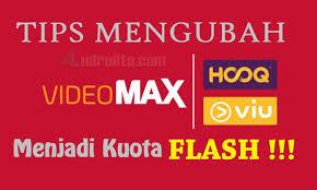 cara mengubah data hooq ke paket biasa dari anitun cara mengubah kuota videomax hooq jadi flash reguler terbaru