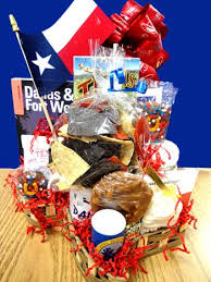 Custom Gift Baskets Custom Gift Baskets All About Texas Gift Basket Yo Pop Etc