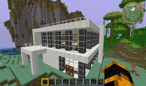 simple modern house minecraft project