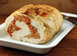 the pantry recipe for cooker turkey breast stuffed