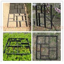 Stepping Stone Molds Uk by Garden Paving Pavement Mold Patio Concrete Stone Path Walk Maker