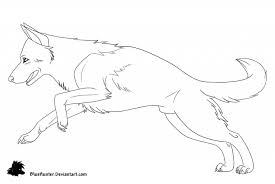 printable german shepherd dog coloring pages murderthestout