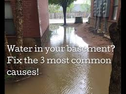 Water Coming Up From Basement Drain by French Drain Tips Water In Basement U0026 Crawl Space Youtube