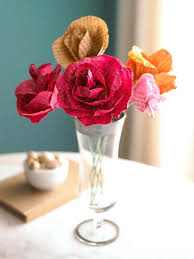 Flowers For Mom Paper Flowers From Old Books U2013 Getneon Co