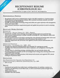 receptionist cover letter sample resume companion