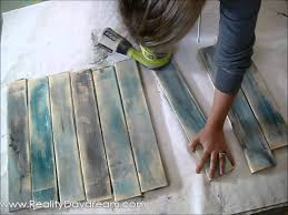 How To Paint Cabinets To Look Distressed Make New Wood Look Like Old Distressed Barn Boards Reality