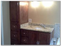 Bathroom Vanity Cabinets Enchanting Bathroom Vanities And Linen Cabinets With Bathroom