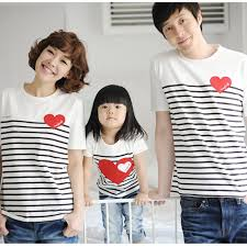 1pc new 2016 family t shirts father son mom baby matching t shirt