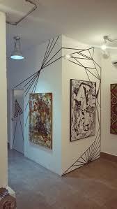 tape art renove as paredes sem gastar tape art walls and tape