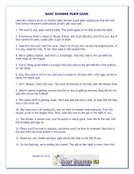 baby shower poems shocking baby shower gift poem list poems for invitations basket