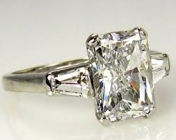 radiant cut engagement ring radiant cut diamond engagement rings pros and cons