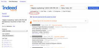 find resumes how to use indeed resume search to find the best candidates fast