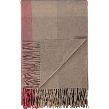 tk maxx home decor red brown cashmere check throw 200x140cm throws blankets