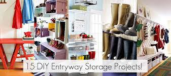 Diy Entryway Organizer Antique Floor Lamps Designs Entryway Storage Projects