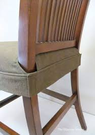 Patterned Slipcovers For Chairs Seat Cover For Dining Chair Clean Simple Wrap Around Design That