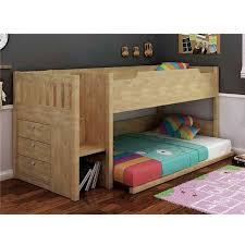 Bunk Beds Au River Single Size Bunk Bed In Oak Bar Stools Boys Bedroom