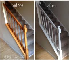 Banister House Updated Fresh Banister Makeover A Brown House