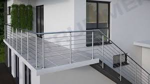 balkon edelstahlgel nder edelstahlgeländer bausätze für balkongeländer treppengeländer