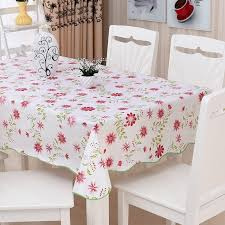 Vinyl Table Cover Aliexpress Com Buy Waterproof U0026 Oilproof Wipe Clean Pvc Vinyl