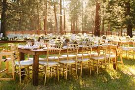 table in the wilderness black tie montana wedding in the wilderness junebug weddings