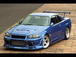 fast and furious cars nissan skyline gtr r34 fast and furious 1 u2013 mobmasker