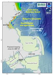 Map Of Massachusetts by Usgs State Of Massachusetts And Noaa Cooperate To Map Sea Floor