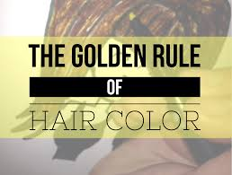 www hairsnips com old the golden rule of hair color color won t lift color