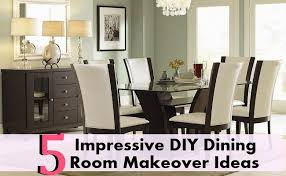 Impressive DIY Dining Room Makeover Ideas Home So Good - Dining room makeover