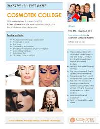 makeup classes san jose ca upcoming event on september 22 2016 at 10 am to 1 pm