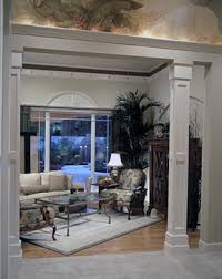 interior columns for homes enhance your home with decorative columns millwork the house