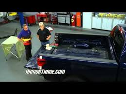 Drop In Truck Bed Liners Performance Tv Armorthane Spray In Bed Liner Versus Drop In Youtube