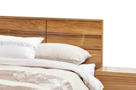 florence solid timber blackwood veneer queen king size bed frame