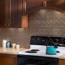 fasade kitchen backsplash panels fasade terrain brushed nickel 18 in x 24 in backsplash panel