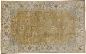 Hand Knotted Rugs India Oushak Hand Knotted Wool Area Rug From India 5 U0027 2