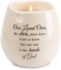 memorial candle our loved ones shine