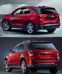 chevy equinox 2018 chevrolet equinox vs 2016 chevrolet equinox rear three