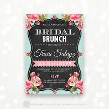 bridal tea party invitation printable bridal shower invitation bridal brunch bridal tea
