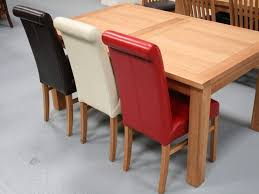 Scroll Back Leather Dining Chairs Leather Emperor Dining Room Chair From Top 30446 Aglf Info