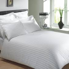 Uk Single Duvet Size Hotel Luxury Egyptian Cotton Rich Stripe Single Duvet Cover In