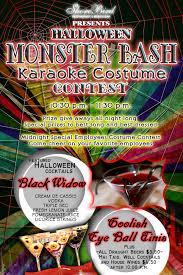 halloween monster bash karaoke costume contest shorebird
