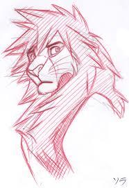 valor sora lion sketch by cherryjam on deviantart