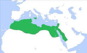 Islam World Map by Islam Its Emergence To The Mamluk Sultanate