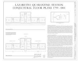 file conjectural floor plans lazaretto quarantine station