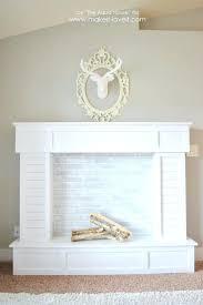 cool faux fireplace mantel suzannawinter com