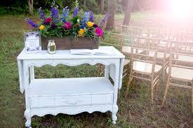 jewel tone wedding ceremony
