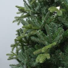 7 5 u0027 feel real slim tiffany fir artificial christmas tree unlit