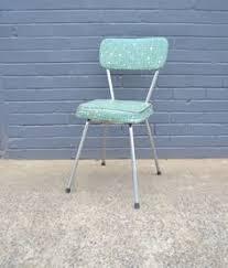 vintage retro mid century namco green swivel chair kitchen chair